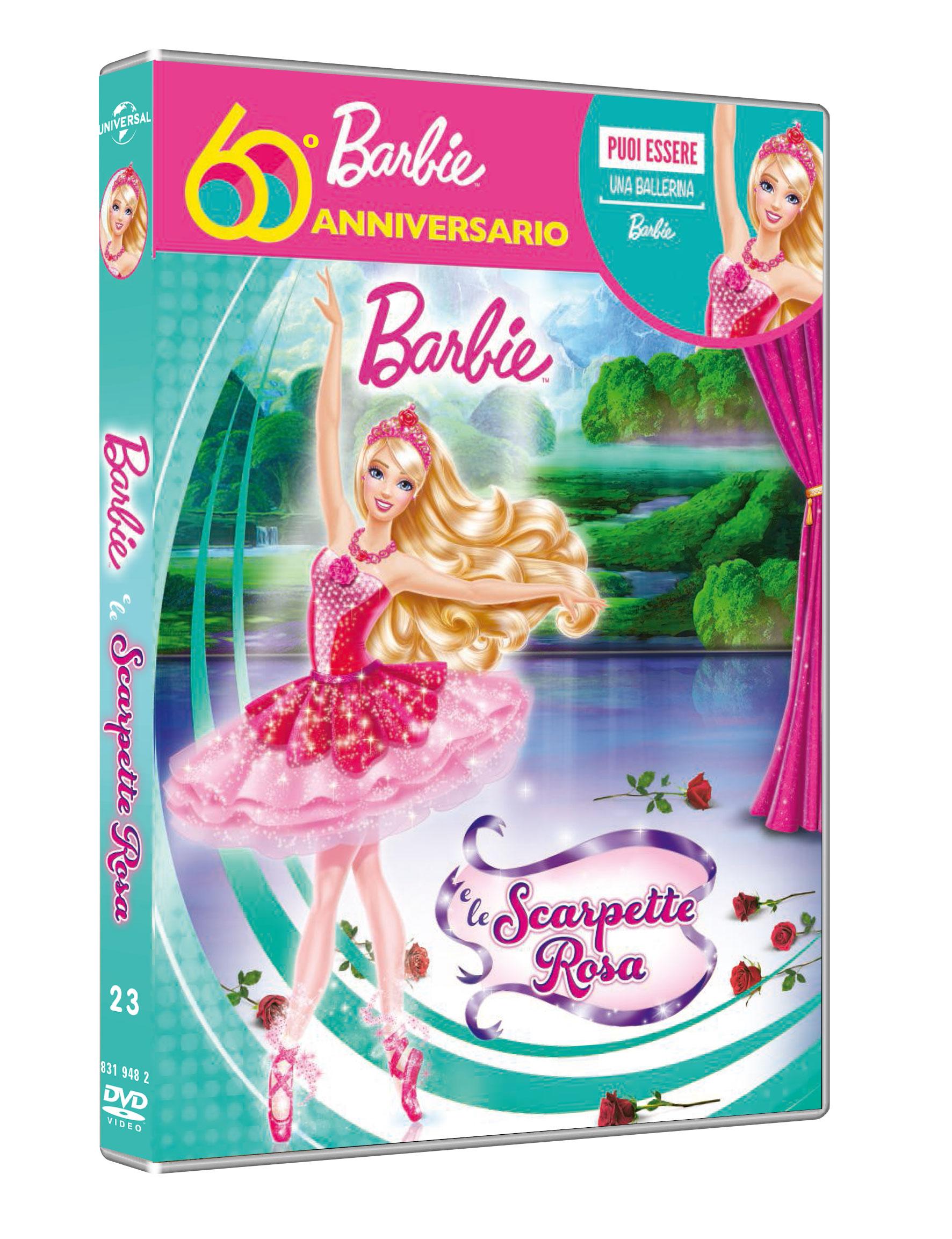 BARBIE E LE SCARPETTE ROSA - EDIZIONE 60 ANNIVERSARIO (BARBIE BA
