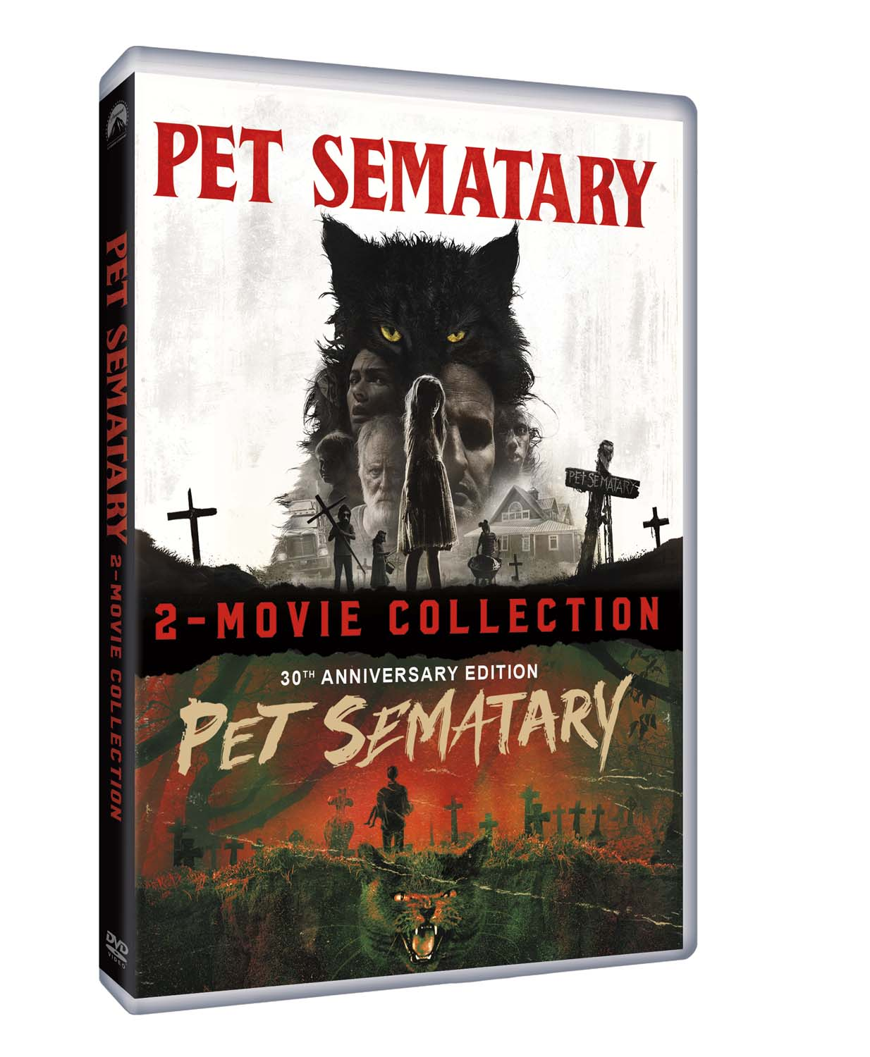 COF.PET SEMATARY COLLECTION (2 DVD) (DVD)