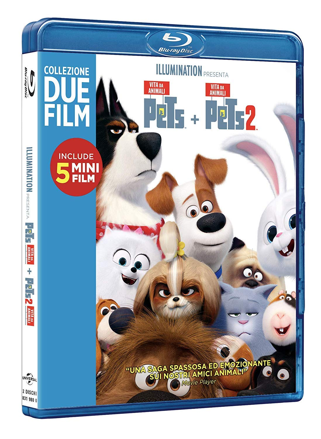 COF.PETS COLLECTION (2 BLU-RAY)