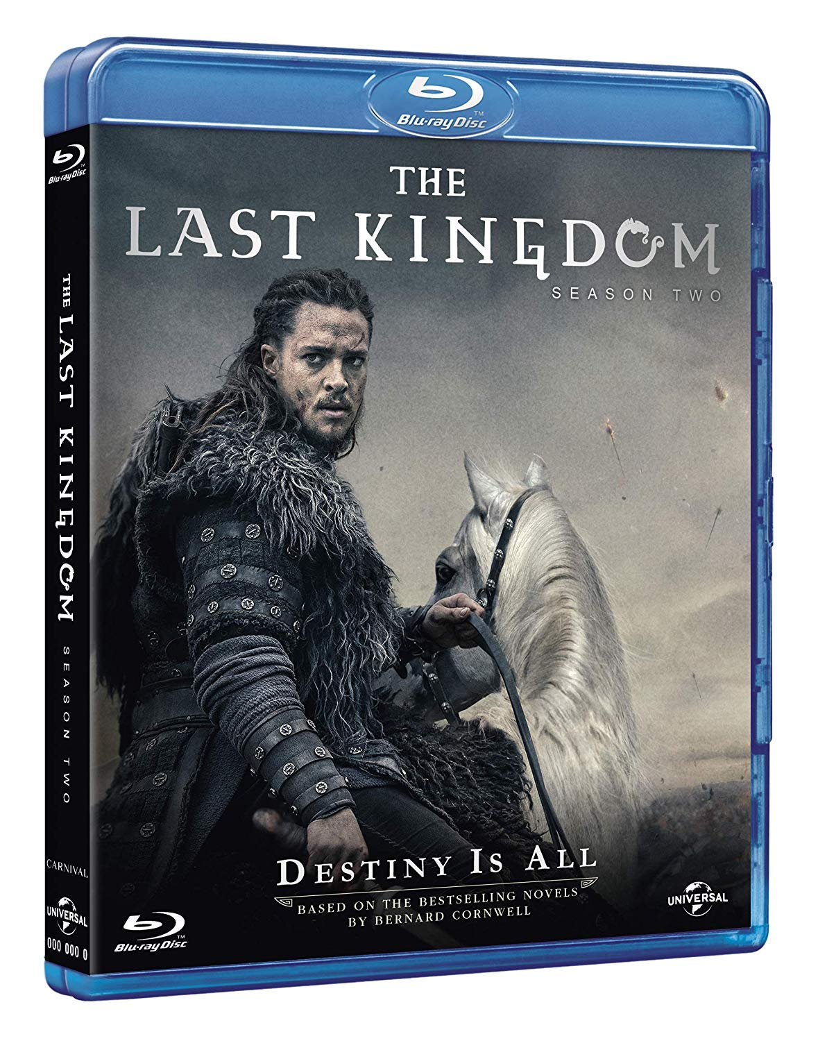 COF.THE LAST KINGDOM - STAGIONE 02 (3 BLU-RAY)
