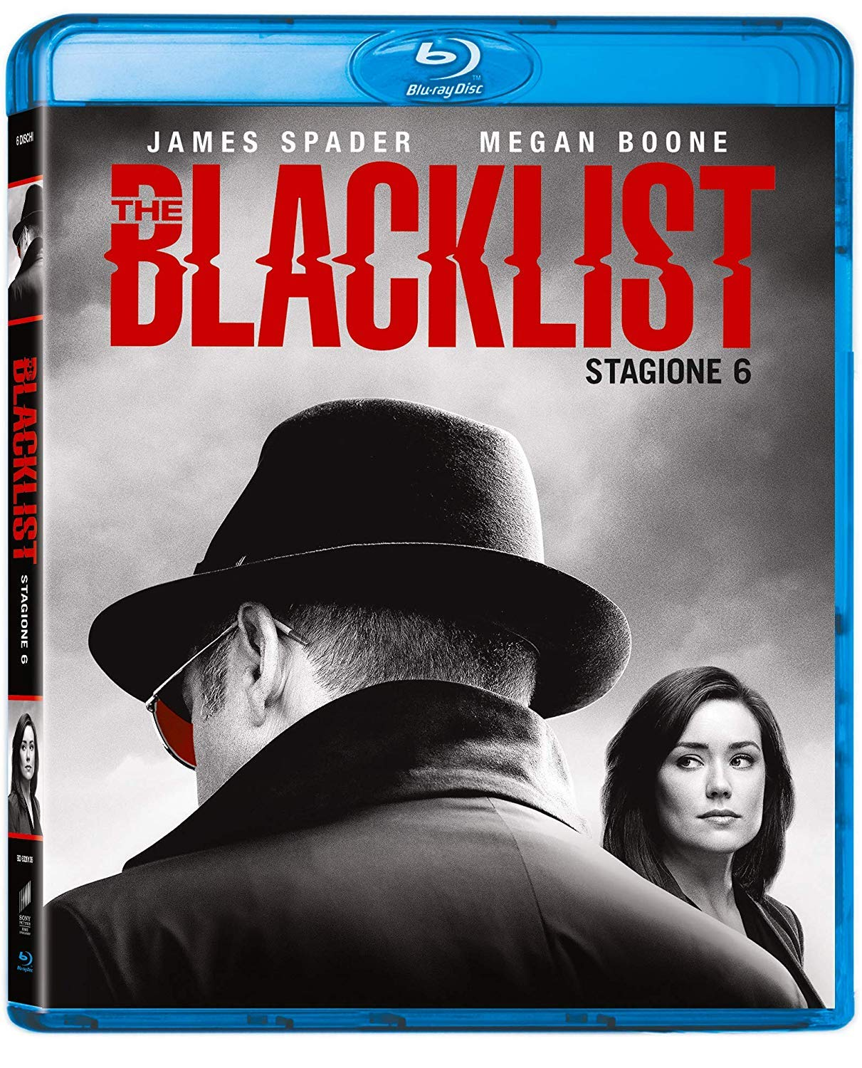 COF.THE BLACKLIST - STAGIONE 06 (6 BLU-RAY)