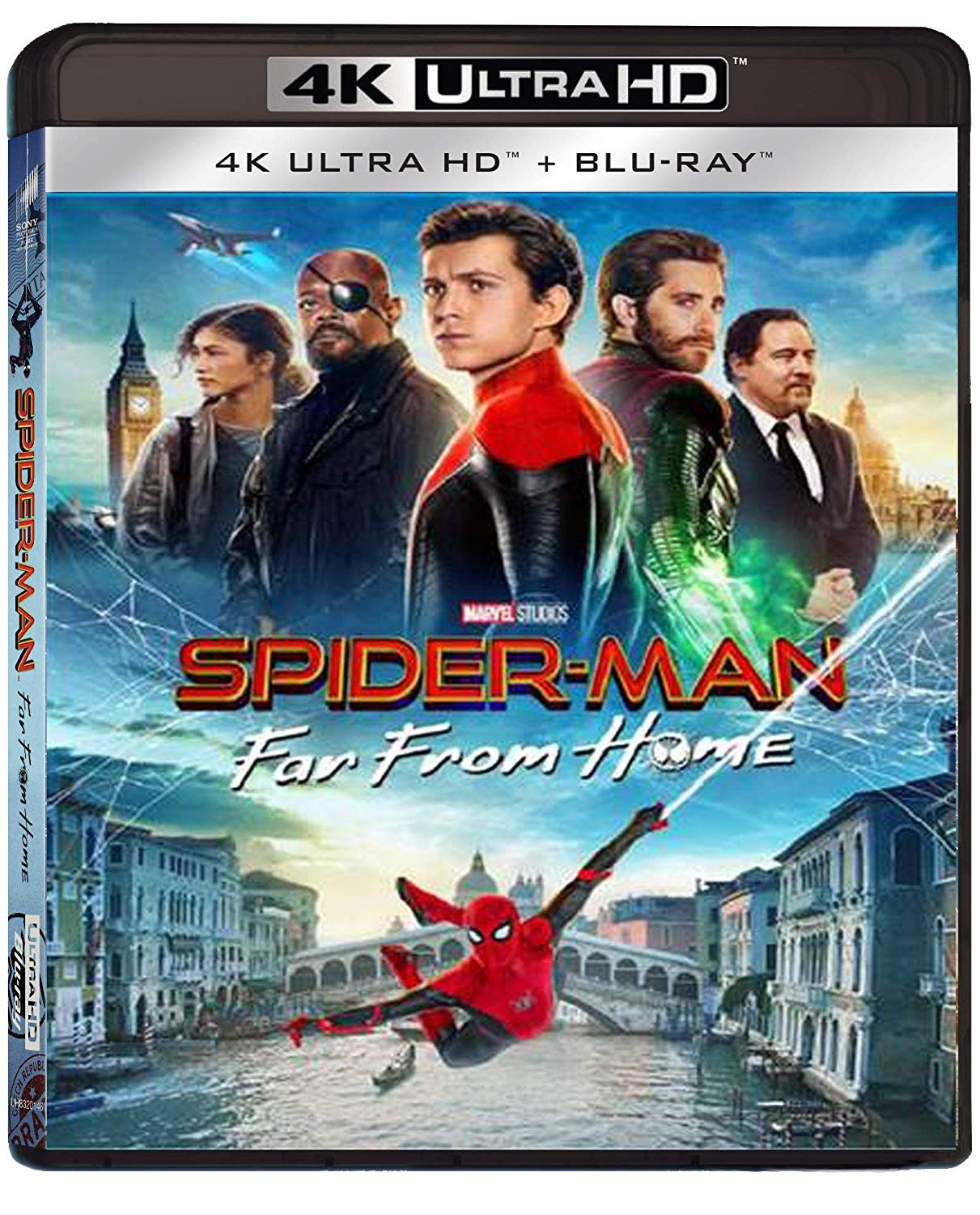 SPIDER-MAN: FAR FROM HOME (4K UHD+BLU-RAY)