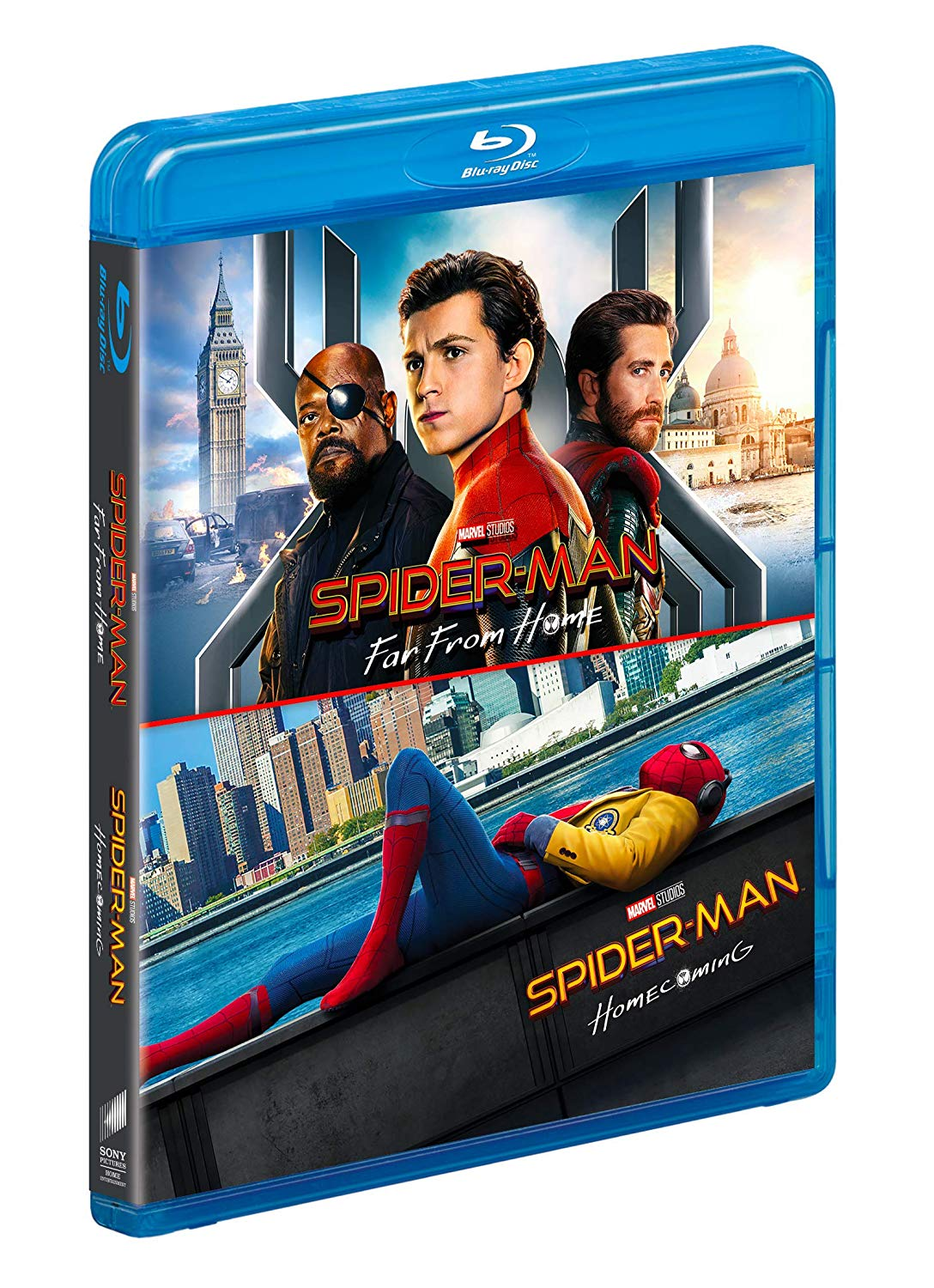 COF.SPIDER-MAN: FAR FROM HOME / HOMECOMING (2 BLU-RAY)