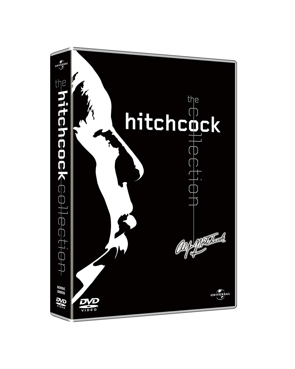 COF.HITCHCOCK COLLECTION - BLACK (8 BLU-RAY)