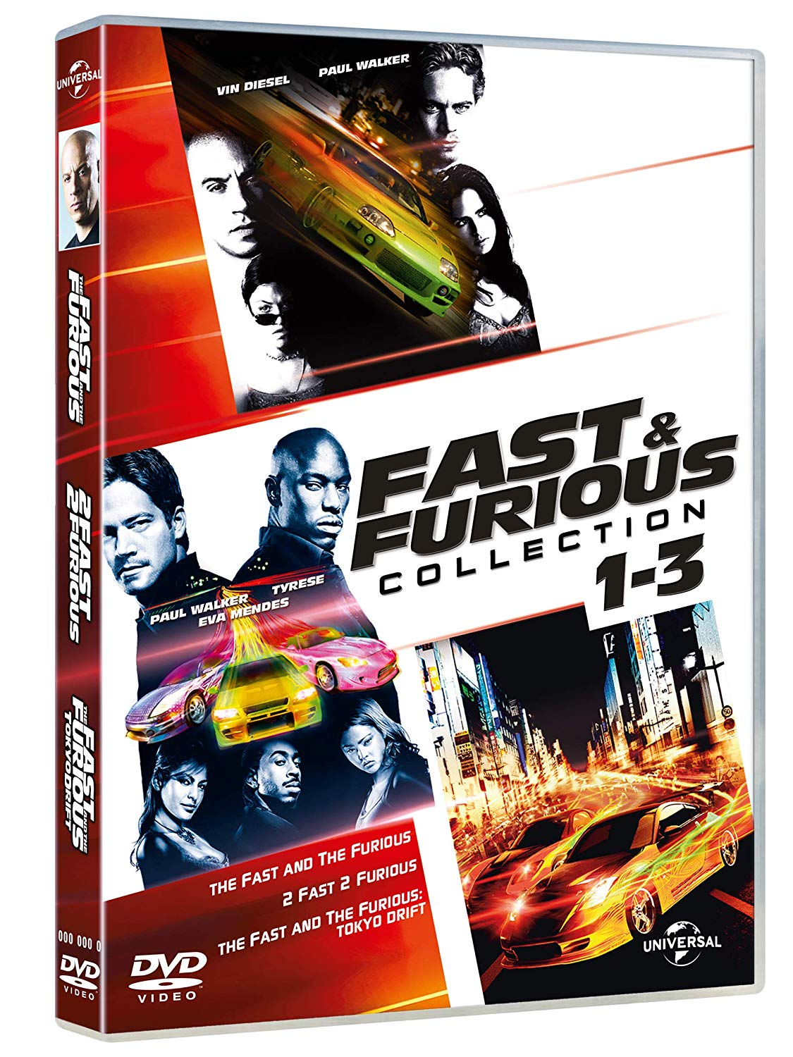 COF.FAST & FURIOUS TUNING COLLECTION (3 DVD) (DVD)
