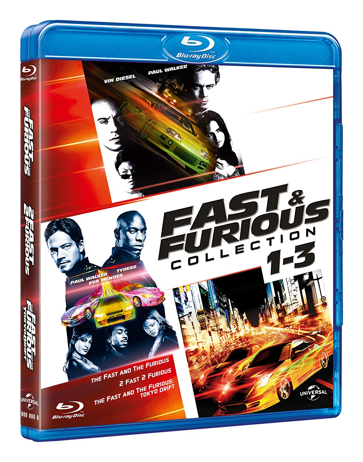 COF.FAST & FURIOUS TUNING COLLECTION (3 BLU-RAY)