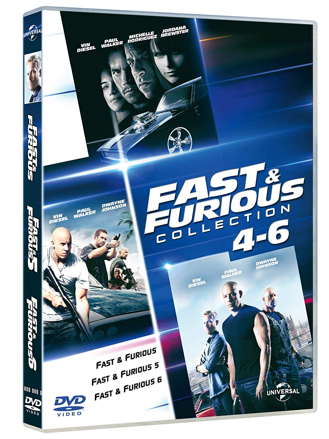 COF.FAST & FURIOUS FAMILY COLLECTION (3 DVD) (DVD)