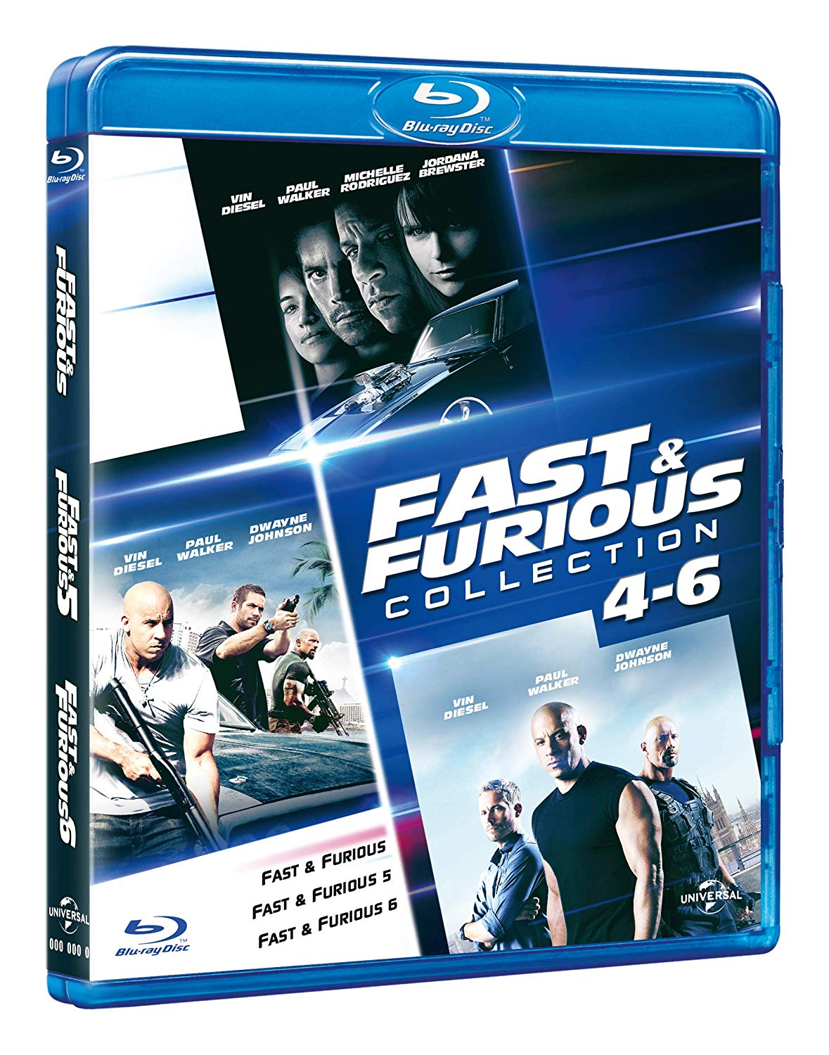 COF.FAST & FURIOUS FAMILY COLLECTION (3 BLU-RAY)