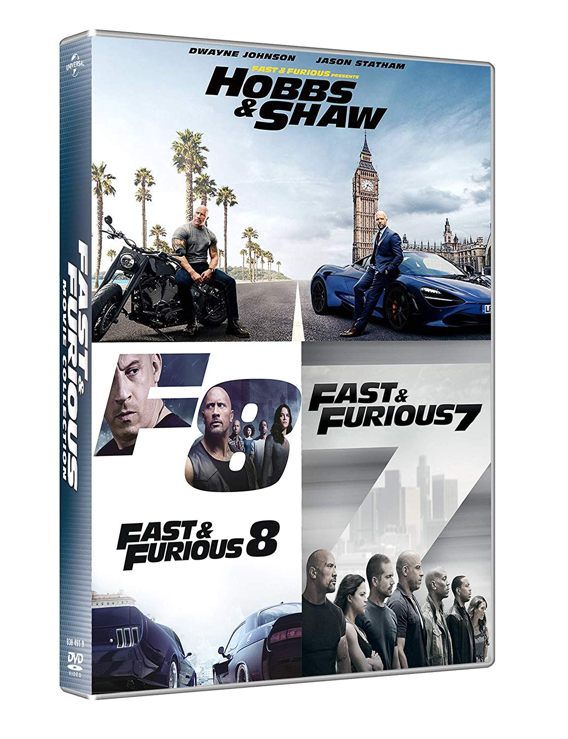 COF.FAST & FURIOUS HOBBS & SHAW COLLECTION (3 DVD) (DVD)