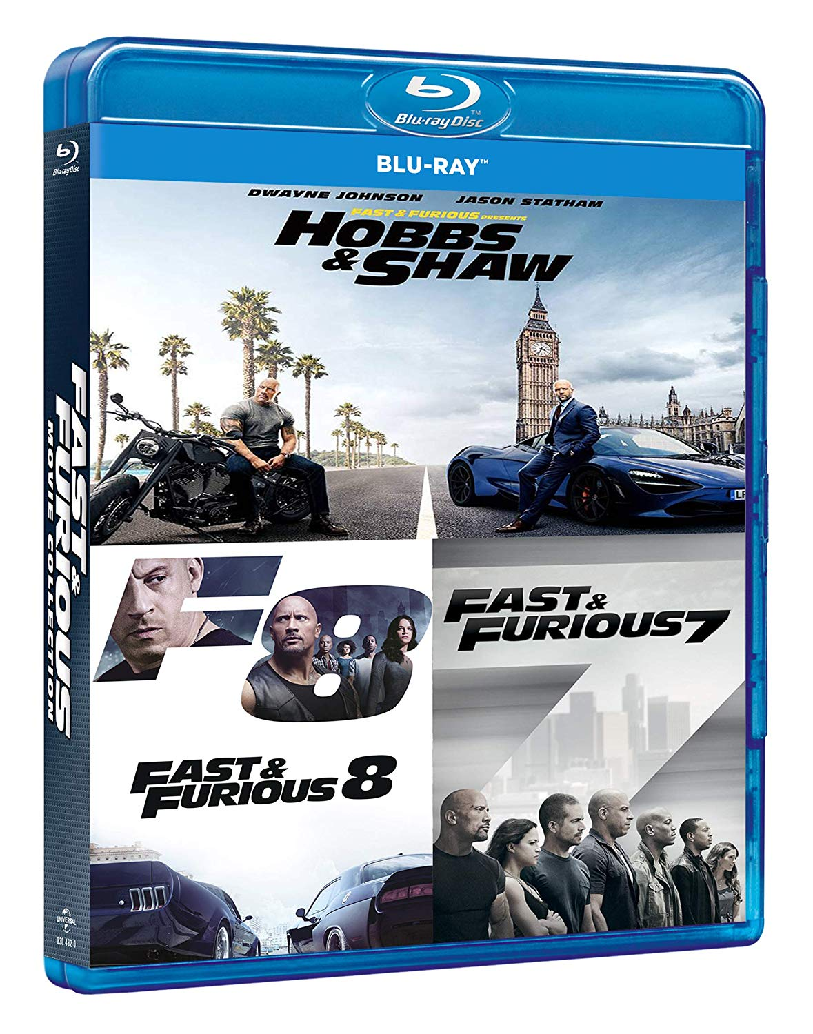 COF.FAST & FURIOUS HOBBS & SHAW COLLECTION (3 BLU-RAY)