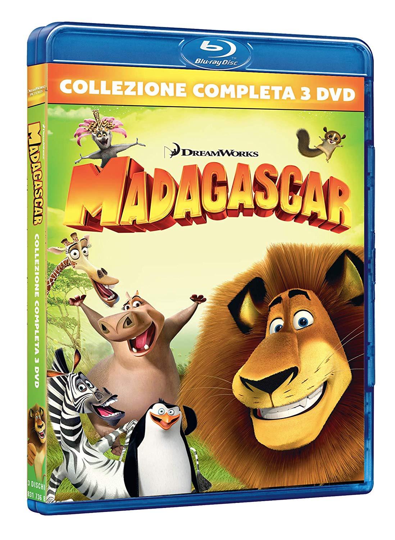 COF.MADAGASCAR COLLECTION (3 BLU-RAY)