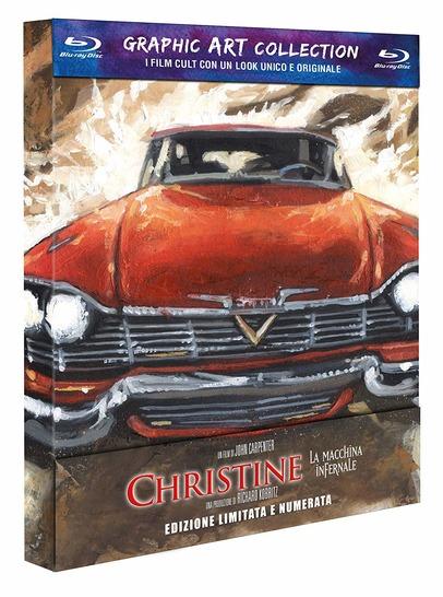 CHRISTINE - LA MACCHINA INFERNALE - ED.LIM GRAPHIC ART(BLU-RAY)