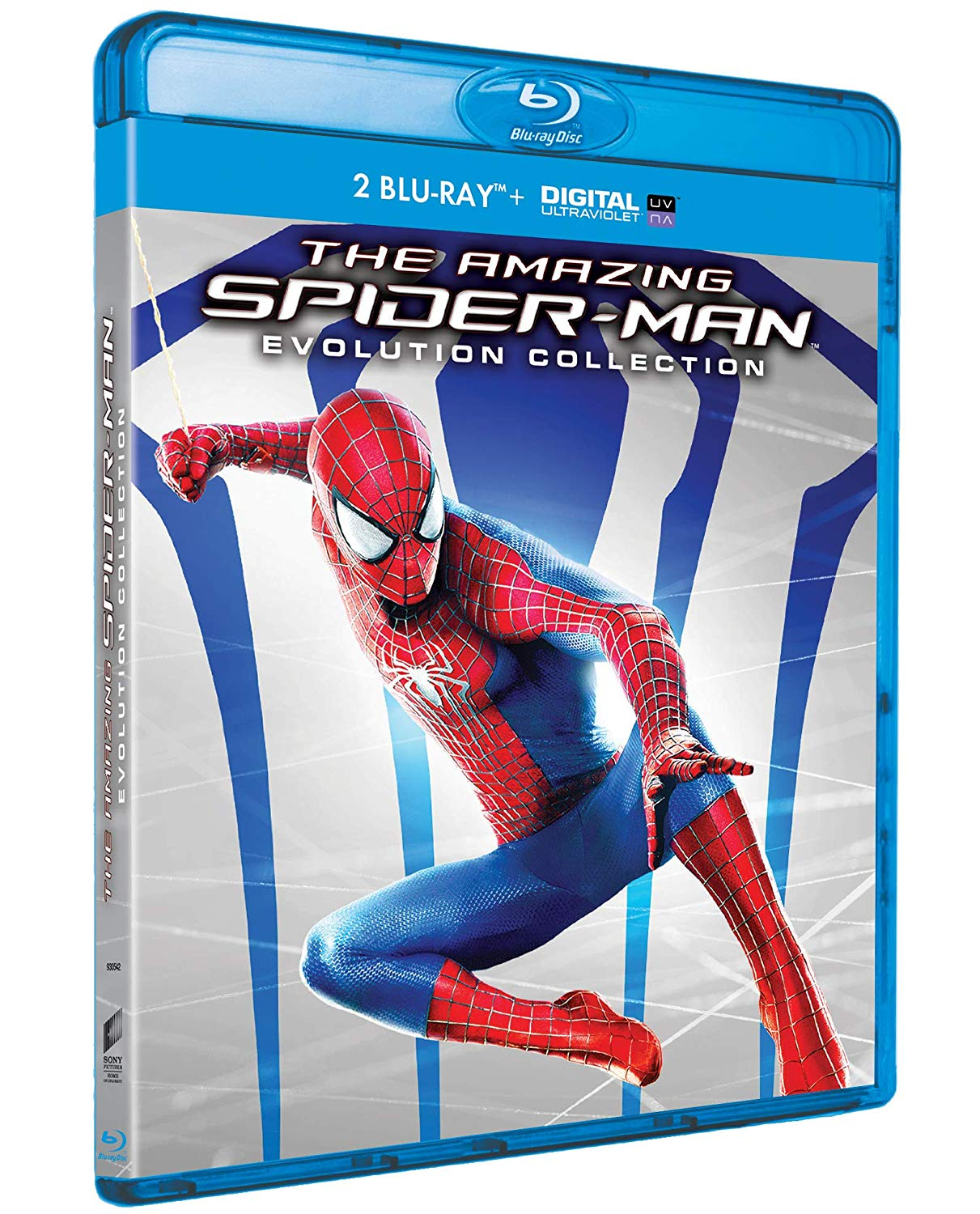 COF.THE AMAZING SPIDER-MAN - EVOLUTION COLLECTION (2 BLU-RAY)