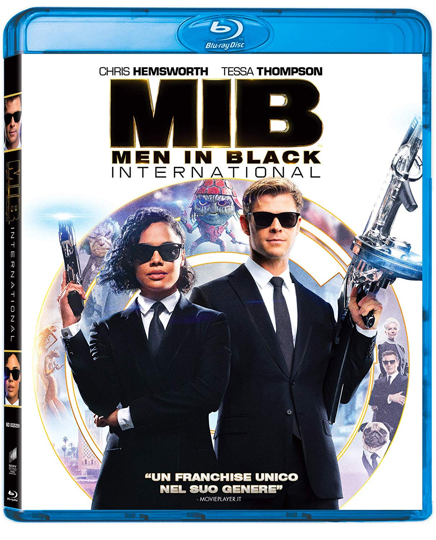 MEN IN BLACK INTERNATIONAL - BLU RAY