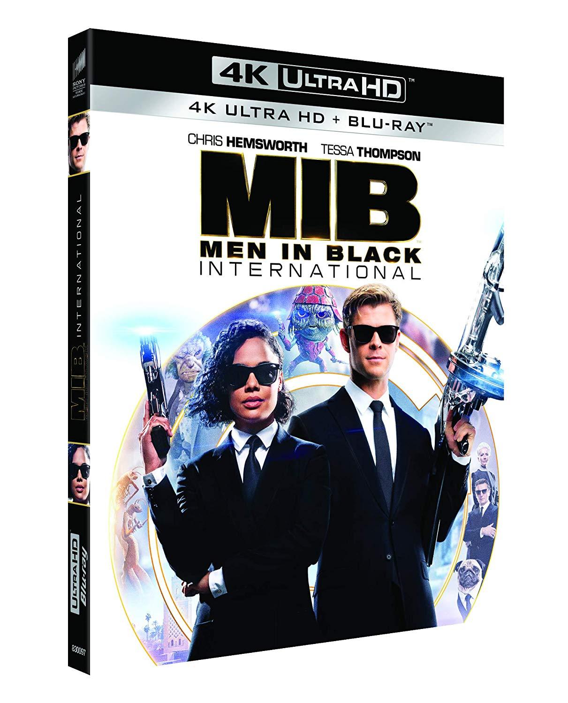 MEN IN BLACK INTERNATIONAL (4K UHD+BLU-RAY)