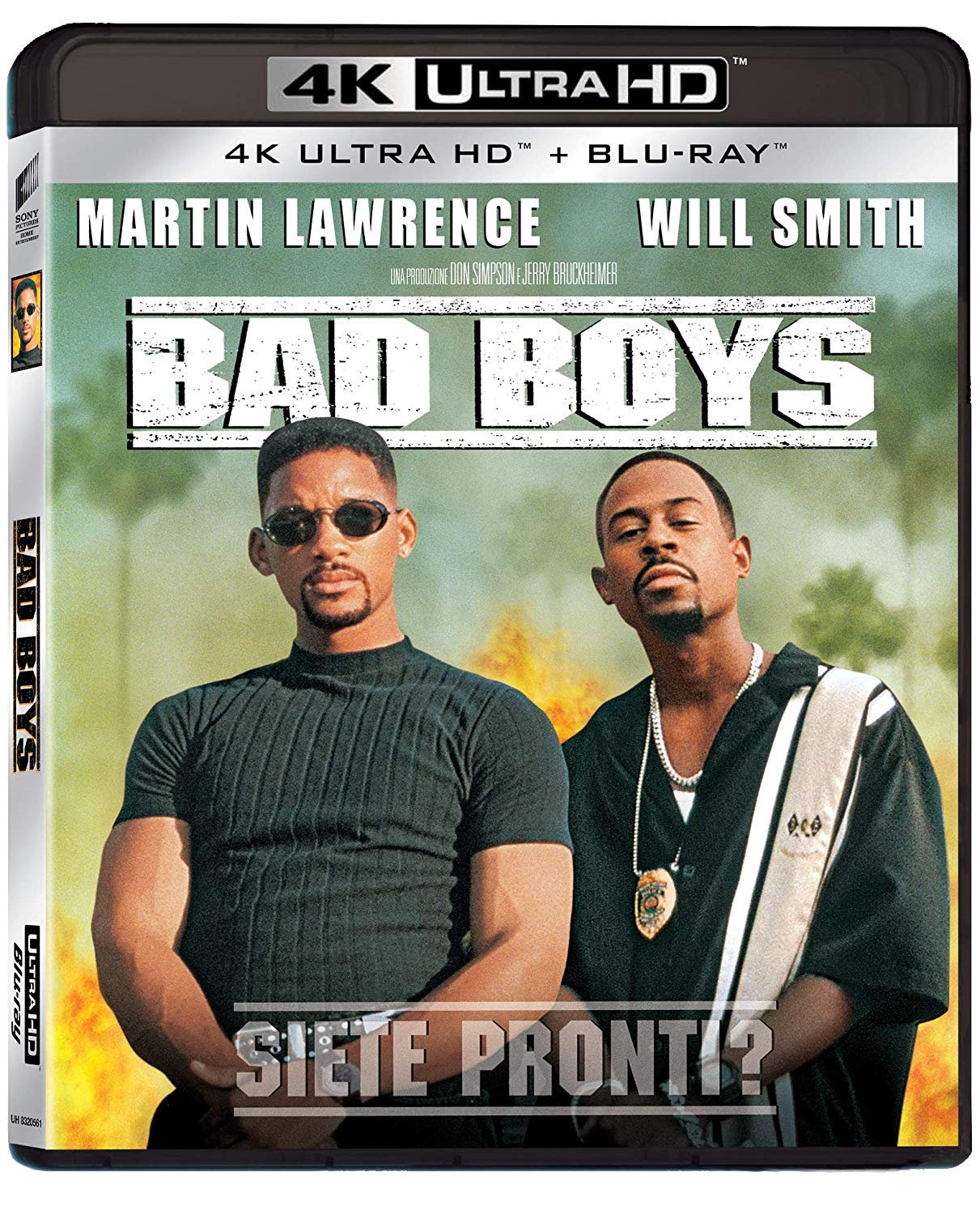 BAD BOYS (4K UHD+BLU-RAY)