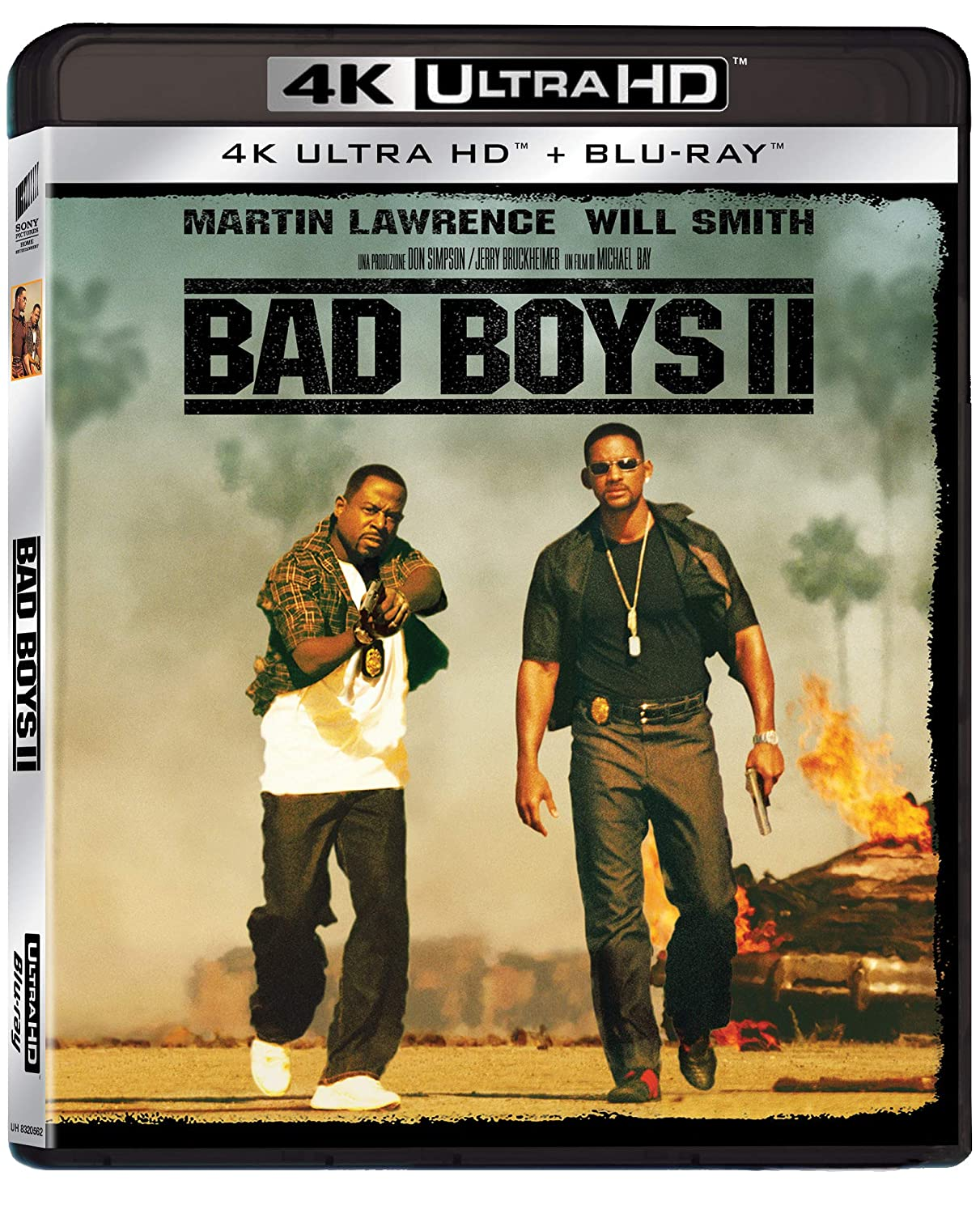 BAD BOYS II (4K UHD+BLU-RAY)