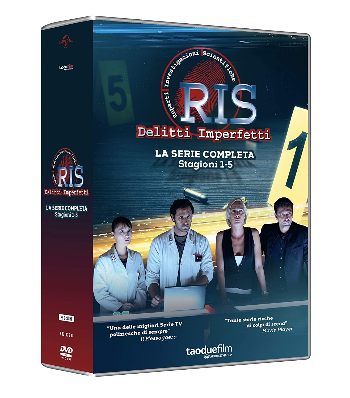 COF.RIS DELITTI IMPERFETTI - COLLEZIONE COMPLETA STAGIONE 1-5 (2