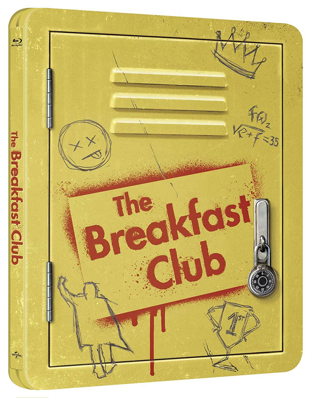 THE BREAKFAST CLUB (ANNIVERSARY EDITION) (STEELBOOK) - BLU RAY