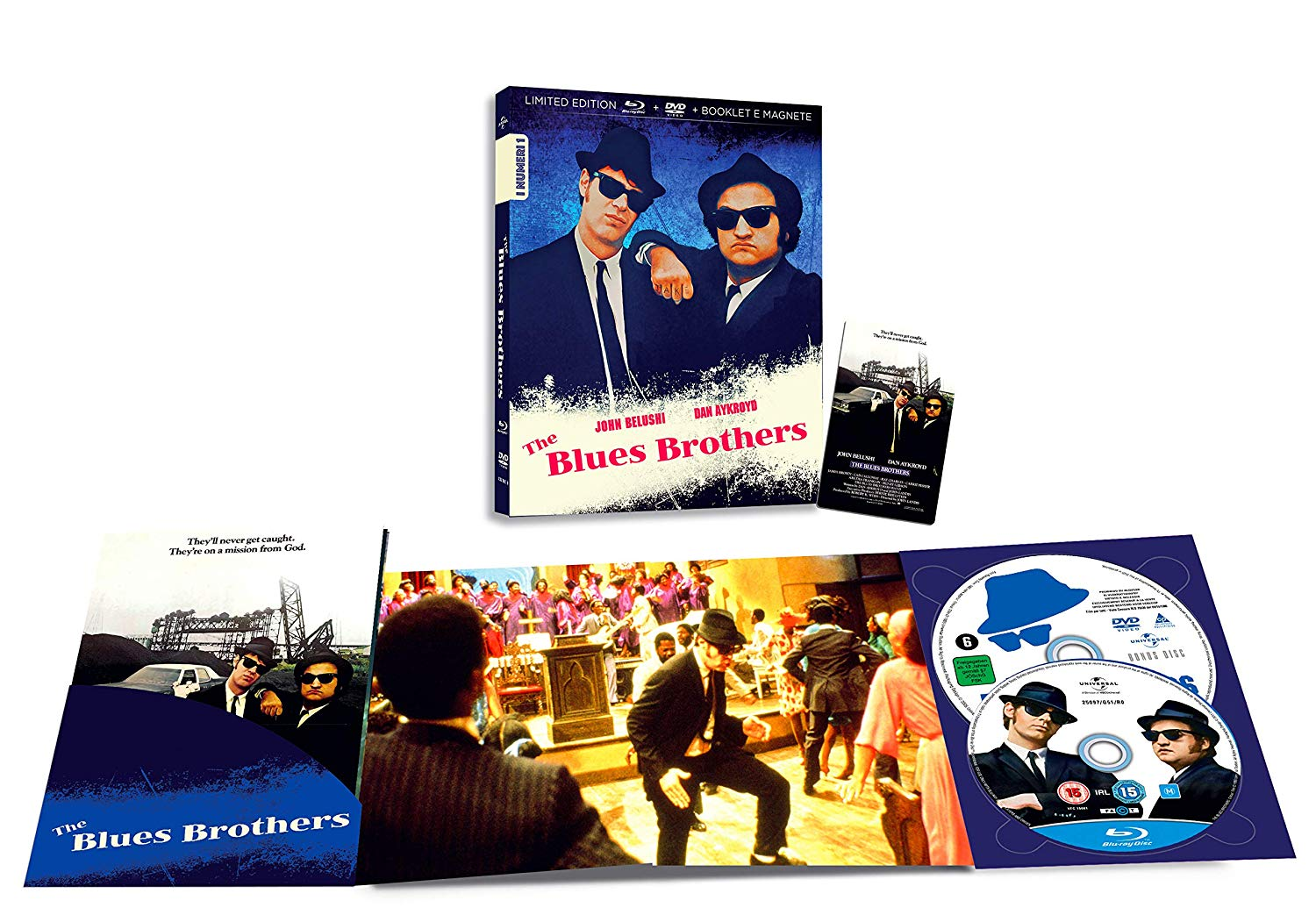 THE BLUES BROTHERS (BLU-RAY+DVD)