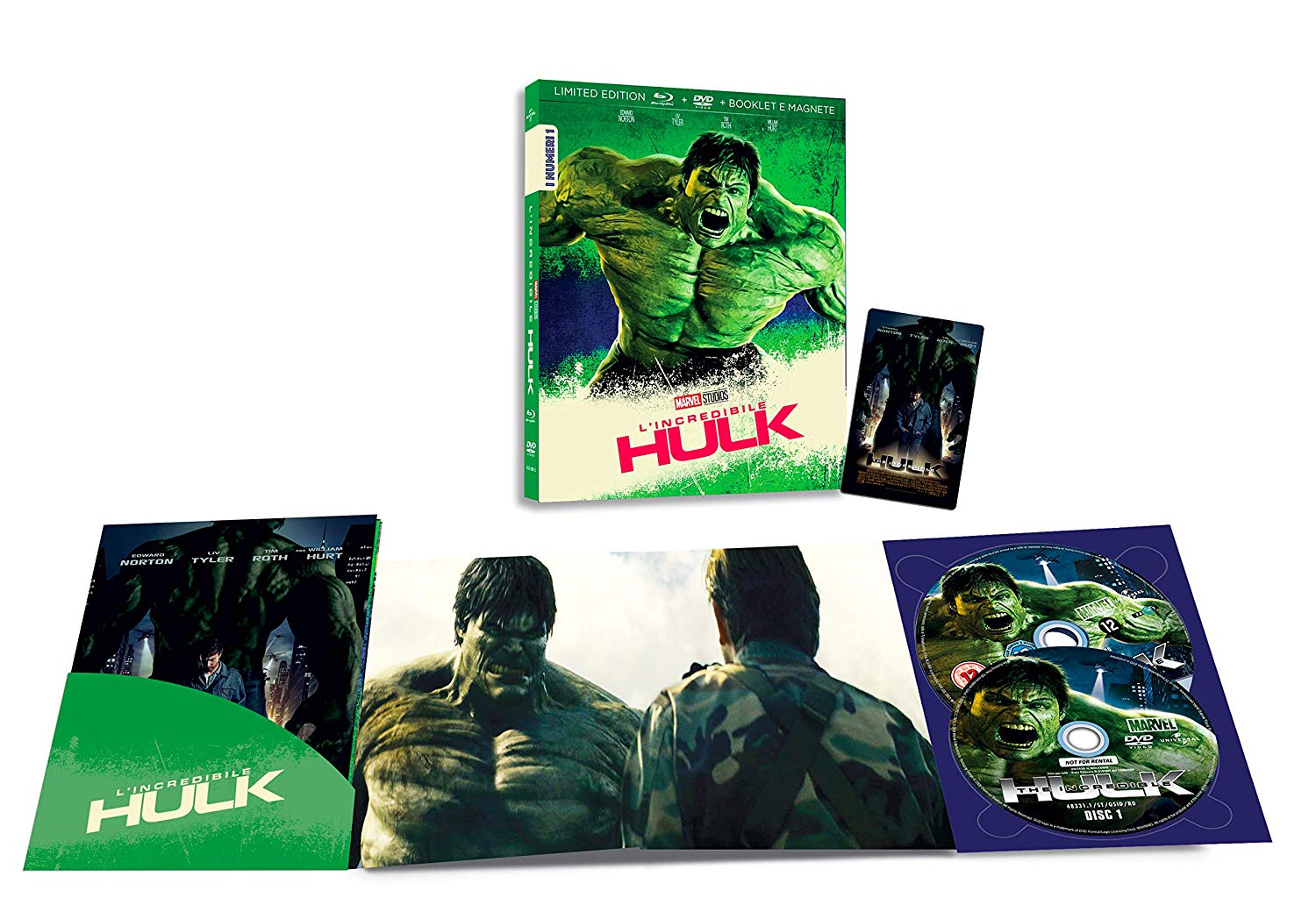 L'INCREDIBILE HULK (BLU-RAY+DVD)