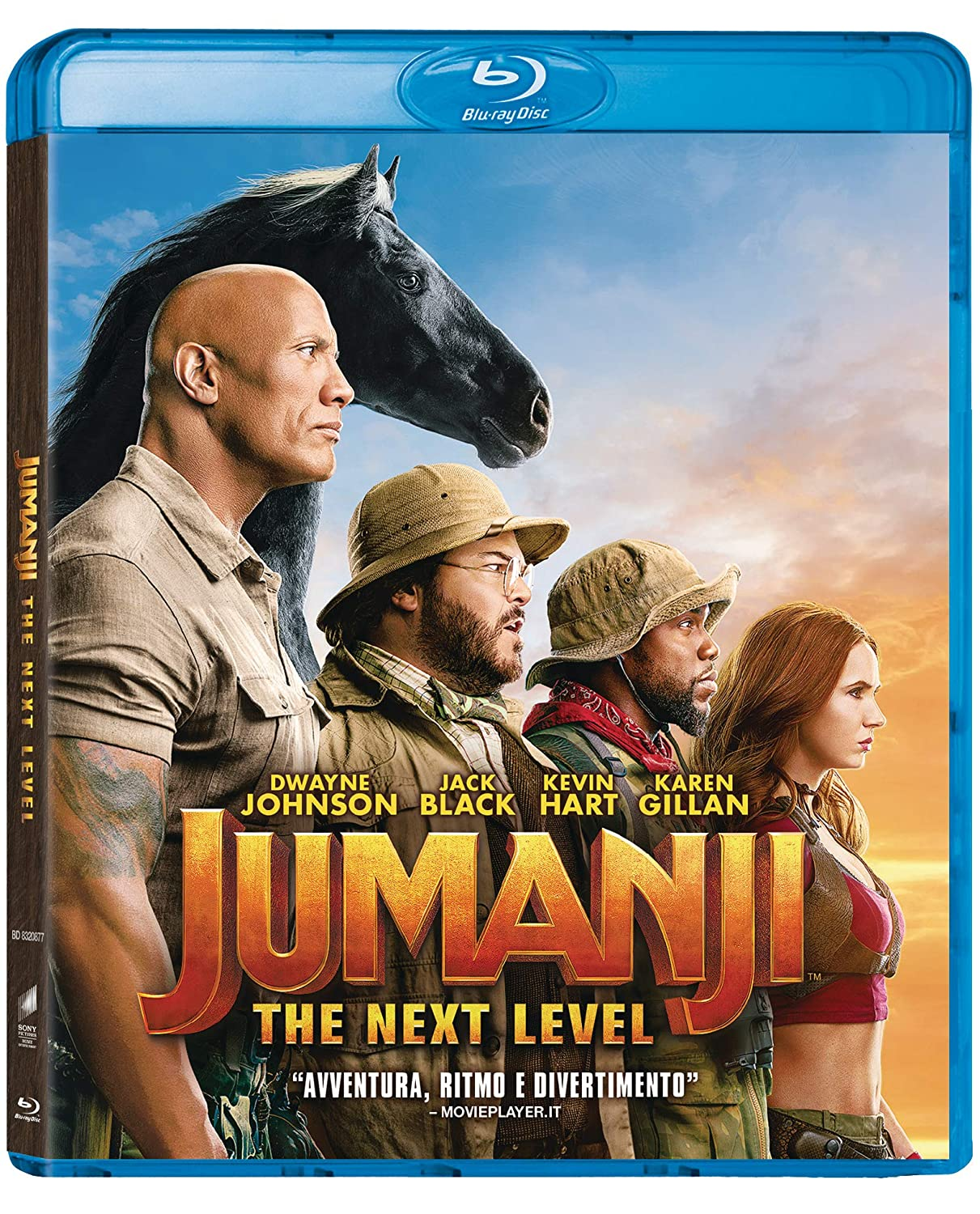 JUMANJI THE NEXT LEVEL - BLU RAY