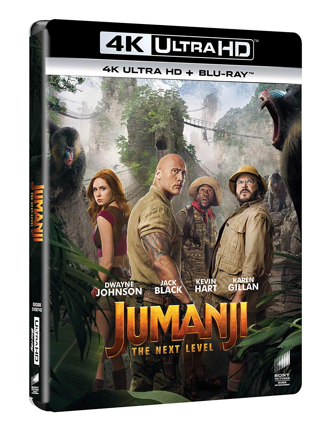 JUMANJI THE NEXT LEVEL (4K UHD+BLU-RAY)