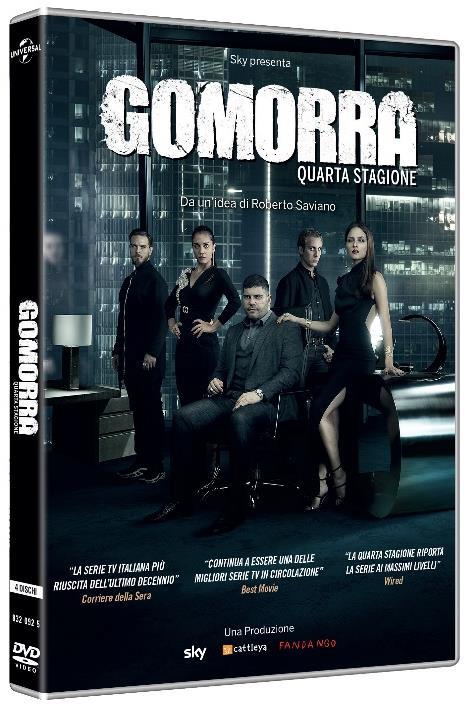 COF.GOMORRA - STAGIONE 04 (4 DVD) (DVD)