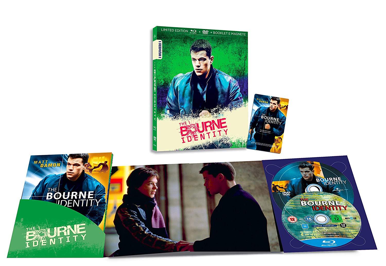 THE BOURNE IDENTITY (BLU-RAY+DVD)