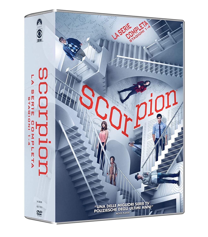 COF.SCORPION - COLLEZIONE COMPLETA (24 DVD) (DVD)