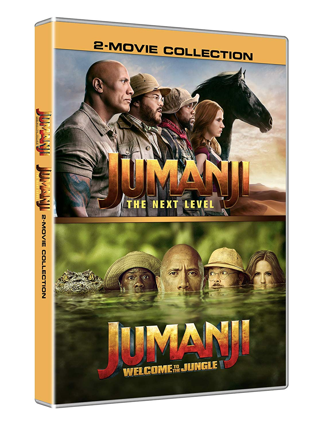 COF.JUMANJI THE NEXT COLLECTION (2 DVD) (DVD)
