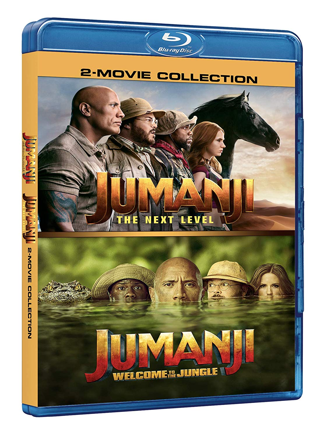 COF.JUMANJI THE NEXT COLLECTION (2 BLU-RAY)
