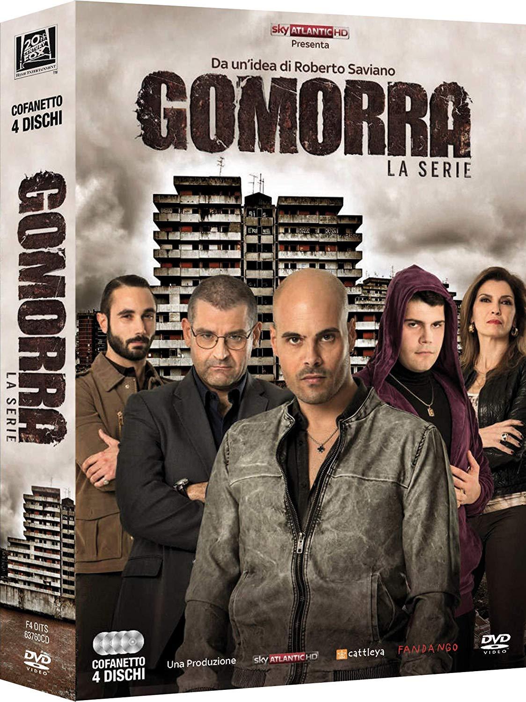 COF.GOMORRA - STAGIONE 01 (4 DVD) (DVD)