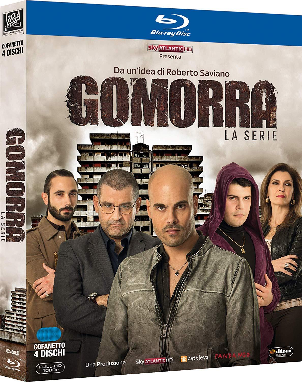 COF.GOMORRA - STAGIONE 01 (4 BLU-RAY)