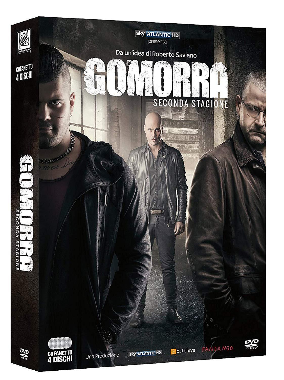 COF.GOMORRA - STAGIONE 02 (4 DVD) (DVD)