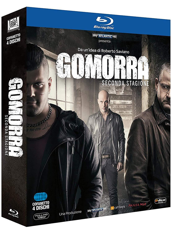 COF.GOMORRA - STAGIONE 02 (4 BLU-RAY)