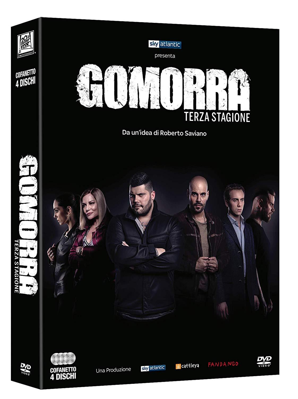 COF.GOMORRA - STAGIONE 03 (4 DVD) (DVD)