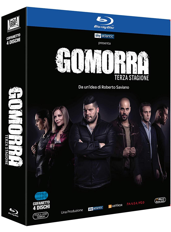 COF.GOMORRA - STAGIONE 03 (4 BLU-RAY)
