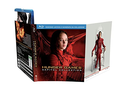 COF.HUNGER GAMES - CAPITOL COLLECTION (4 BLU-RAY)