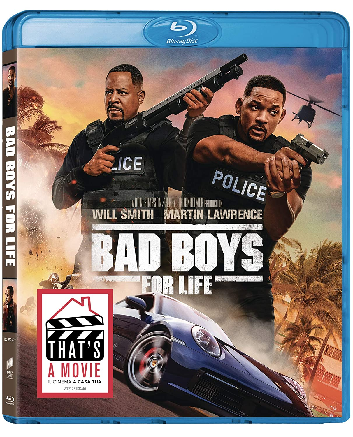 BAD BOYS FOR LIFE - BLU RAY