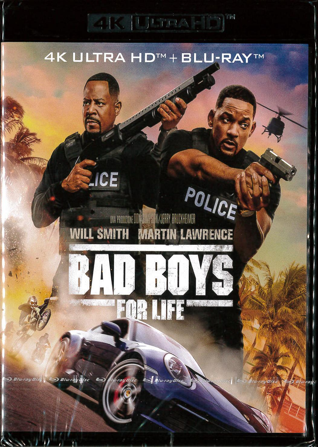 BAD BOYS FOR LIFE (BLU-RAY 4K ULTRA HD+BLU-RAY)