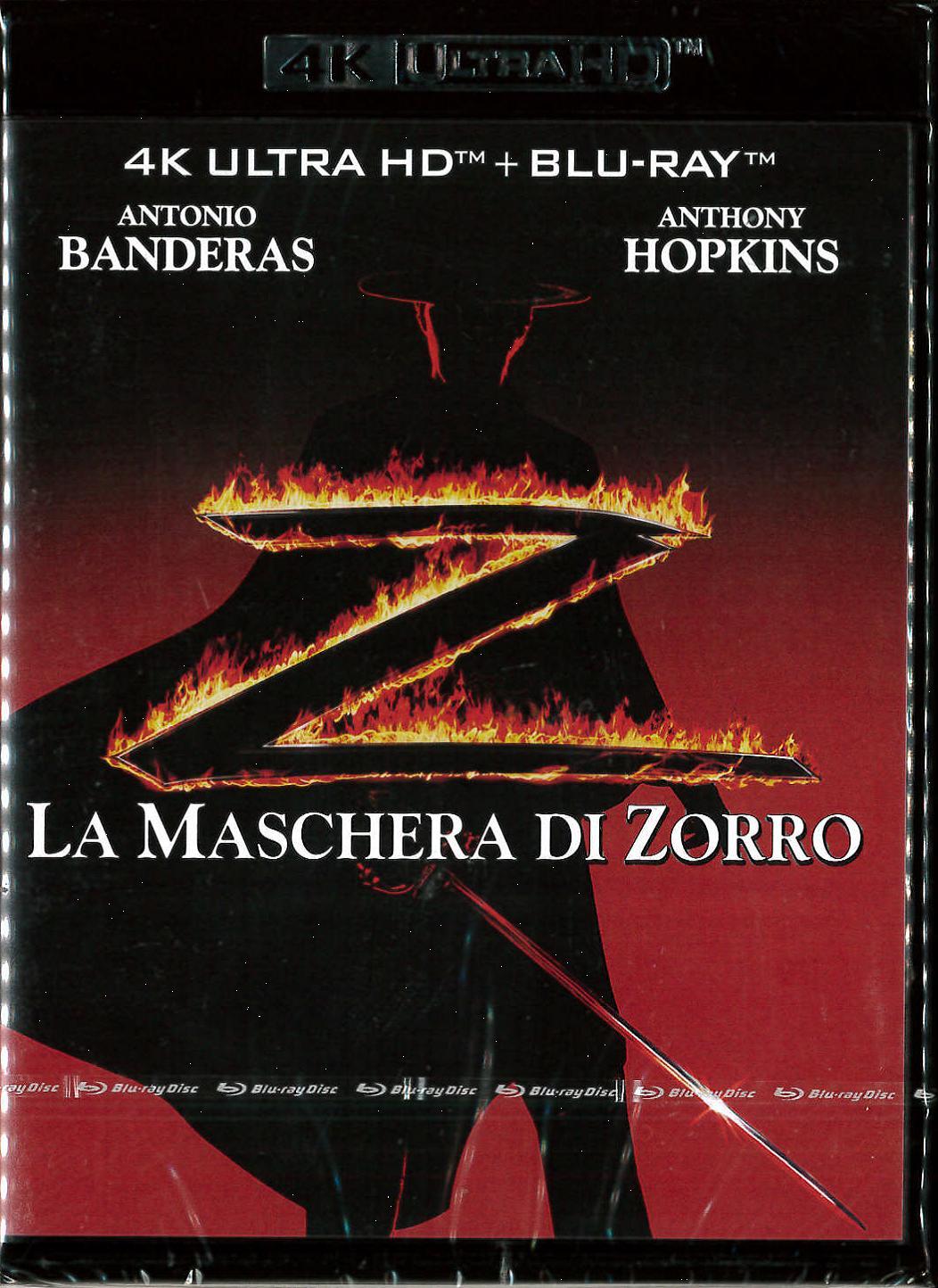MASCHERA DI ZORRO (LA) (UHD+BLU-RAY)