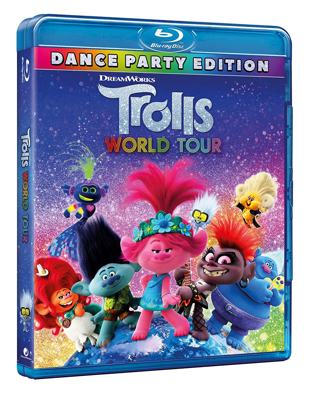 TROLLS WORLD TOUR - BLU RAY