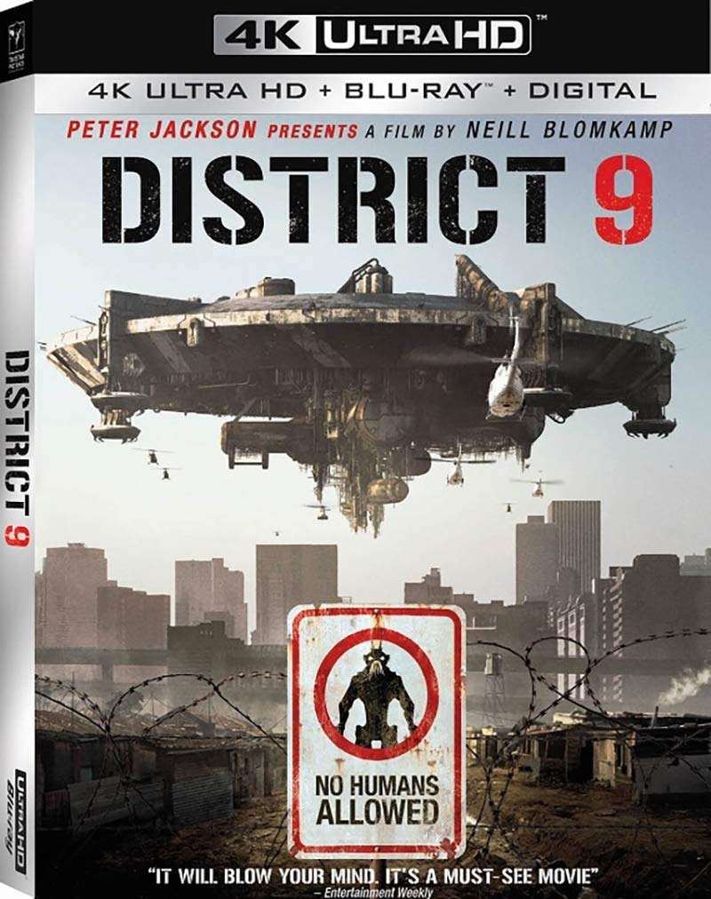 DISTRICT 9 (UHD+BLU-RAY)