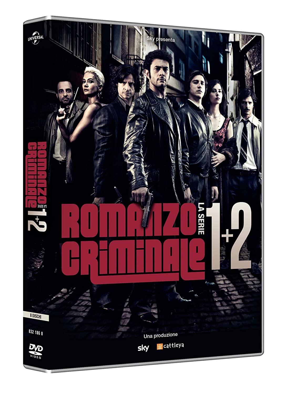 COF.ROMANZO CRIMINALE - STAGIONI 01-02 (8 DVD) (DVD)