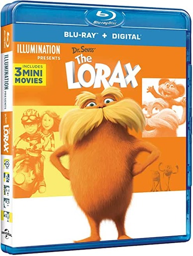 THE LORAX - BLU RAY
