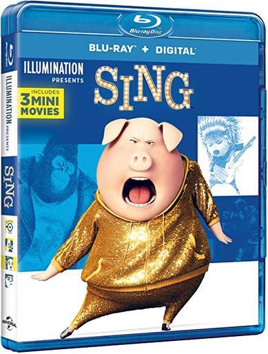 SING - BLU RAY