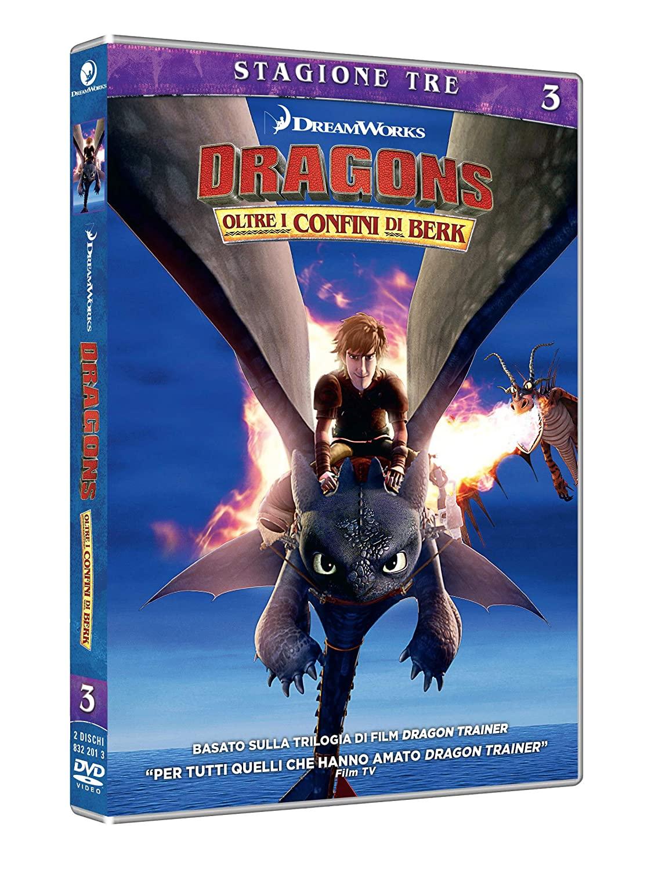 COF.DRAGON TRAINER - OLTRE I CONFINI DI BERK - STAGIONE 03 (2 DV