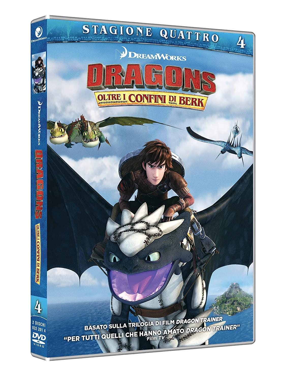 COF.DRAGON TRAINER - OLTRE I CONFINI DI BERK - STAGIONE 04 (2 DV