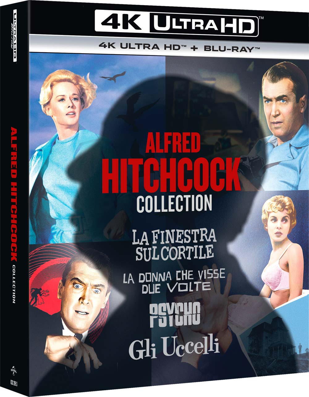 COF.ALFRED HITCHCOCK COLLECTION (8 BLU-RAY 4K ULTRA HD+8 BLU-RAY